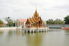 Der Knall-Schmerz-Palast Stockbild