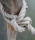Der Knoten des Seils Lizenzfreies Stockbild
