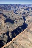 Der Kolorado-Fluss im Grand Canyon Lizenzfreies Stockfoto