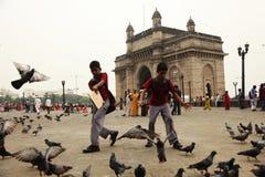 Der Kommunikationsrechner von Indien Stockbild