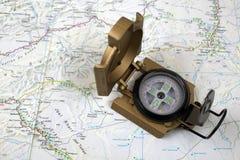 Der Kompass Stockbilder