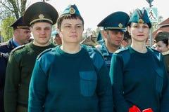 Der Komplex von den Ereignissen eingeweiht dem 30. Jahrestag des Tschornobyl-Unfalles in der Gomel-Region des Republik Belarus Stockbilder
