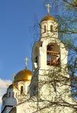 Der Komplex von orthodoxen Kirchen Lizenzfreie Stockfotos