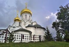 Der Komplex von orthodoxen Kirchen Stockfotografie