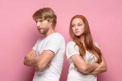 Der Konflikt von Paaren Lizenzfreie Stockfotos