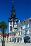 Der Kontrollturm in Chomutov Lizenzfreies Stockfoto