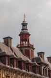 Der Kontrollturm von La vieille Wertpapierbörsede Lille Lizenzfreie Stockfotografie