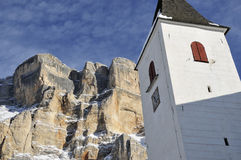 Der Kontrollturm von Santa Croce Stockbilder