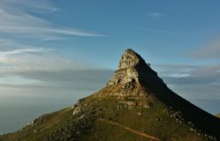 Der Kopf Mountian des Löwes Lizenzfreie Stockfotos