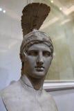 Der Kopf von Ares Stockbilder