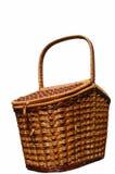 Der Korb für Picknick. Lizenzfreies Stockbild