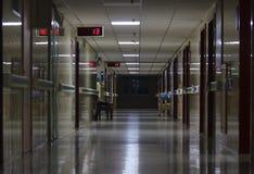 Der Korridor des Krankenhauses stockbild