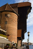 Der Kran in Gdansk Stockfotos