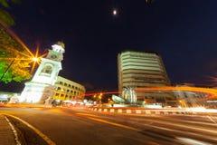 Der Kreis von Lichtern Lizenzfreie Stockfotos
