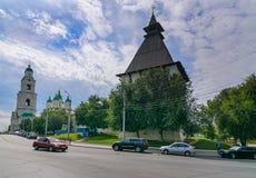 Der Kreml in Astrakhan Russland Stockfotografie