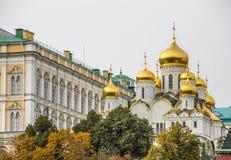 Der Kreml-Kai in Moskau Stockbild