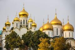 Der Kreml-Kai in Moskau Stockbilder