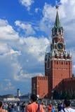 Der Kreml mit blauem Himmel Stockfotografie