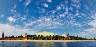 Der Kreml-Panorama Lizenzfreie Stockfotos