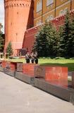 Der Kreml-Schutz Stockfotos