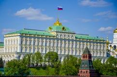 Der Kreml, Tageslichtszene Moskaus, Russland Stockbild