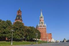 Der Kreml und Roter Platz in Moskau Stockbilder