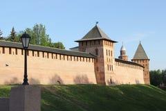 Der Kreml in Velikiy Novgorod Lizenzfreies Stockbild