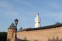 Der Kreml in Velikiy Novgorod Lizenzfreie Stockfotografie