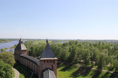 Der Kreml in Velikiy Novgorod Lizenzfreies Stockfoto