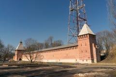 Der Kreml-Wand in Smolensk-2 Lizenzfreies Stockfoto
