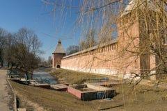 Der Kreml-Wand in Smolensk-4 Stockfotografie