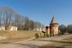 Der Kreml-Wand in Smolensk-3 Lizenzfreie Stockfotos