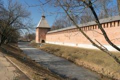 Der Kreml-Wand in Smolensk-5 Lizenzfreie Stockbilder