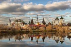 Der Kreml zu Izmailovo Stockfoto