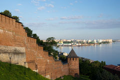 Der Kremlin in Nizhny Novgorod Lizenzfreie Stockfotos