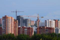 Der Kremlin wird im Fluss reflektiert Stockbilder