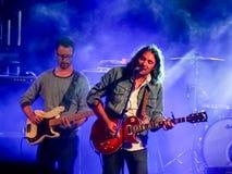 Der Krieg auf Drogen - Breiten-Festival 2014 Stockbild