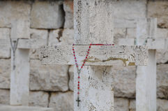 Der Kriegskirchhof der Stadt von montecassino Stockfotos