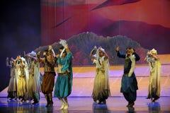 Der Krummsäbel--Huiballettmond des Prinzen über Helan Stockfoto