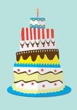 Der Kuchen stockbild