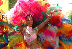 Der Kulturen (Carneval de Karneval des cultures) Photographie stock libre de droits