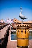 Der kupferne Kran in kunmingï ¼ ŒChina Stockfotos