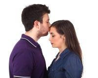 Der Kuss Lizenzfreie Stockfotos