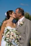 Der Kuss Lizenzfreies Stockbild