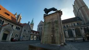 Der Löwe di Heinrich Fotografia Stock