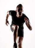 Der Läufer. Lizenzfreie Stockbilder