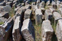 Der Löwe von Amphipolis lizenzfreie stockbilder