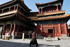 Der lama-Tempel in Peking China Stockbilder