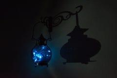 Der Lampe ` s Schatten Stockbild