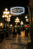 Der Lamplighter Public House, Vancouver, BC Lizenzfreie Stockfotos